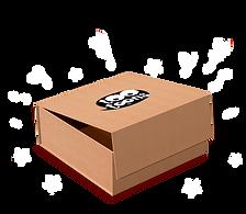 Coffret cadeau Tootoons, boîte cadeau en carton recyclé