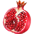 single half pomegranate-png-image-thumb.