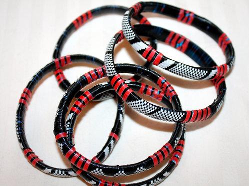 #7132 - Bracelet recyclé plastique