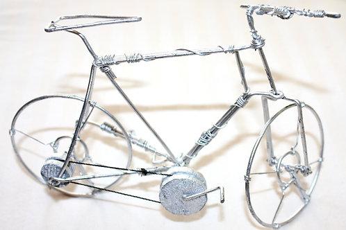 #9047 - Petits vélo peinture argent
