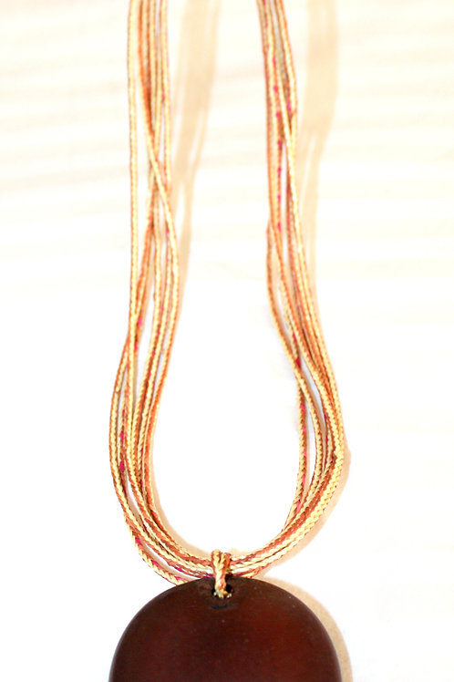 #7103 - Collier à paille diversifié