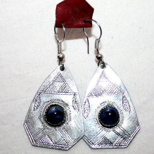 #7022 - Boucle d'oreille argent