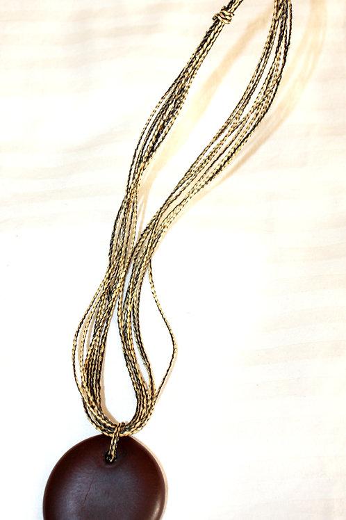 #7115 - Collier à paille diversifié