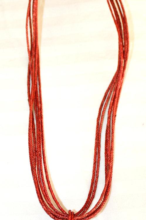 #7102 - Collier à paille diversifié