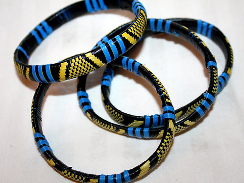 #7129 - Bracelet recyclé plastique