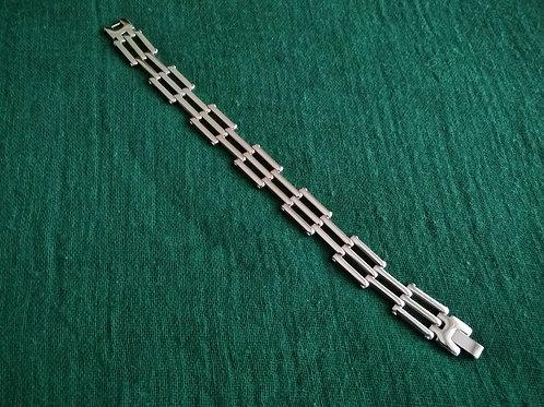 bracelet sterling silver argent