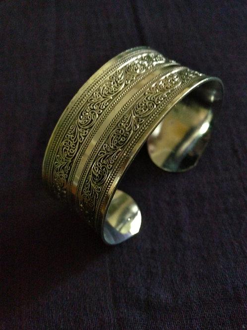 bracelet en argent plat