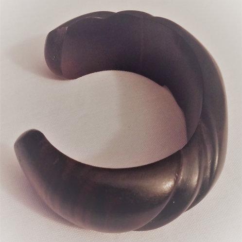 Bracelet en bois d'ében