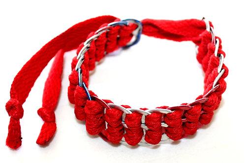 #7055 - Bracelet reclyclé cannette rouge