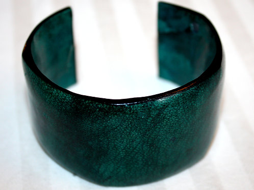 #7118 - Bracelet en cuir large
