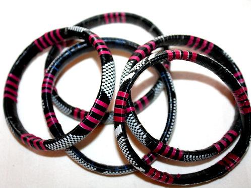 #7134 - Bracelet recyclé plastique