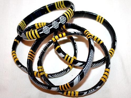 #7133 - Bracelet recyclé plastique