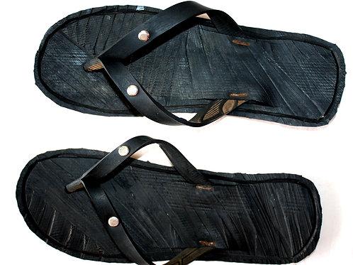 #9009 - Sandale recyclée en pneu