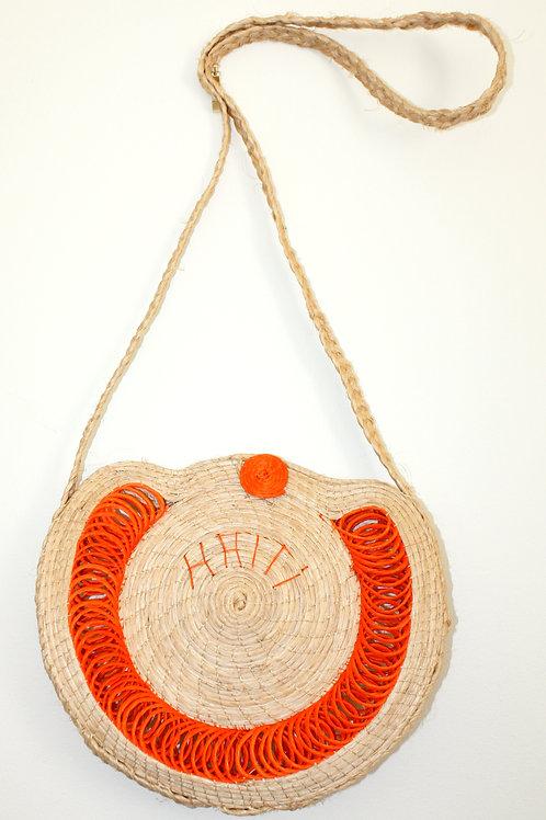 #5000 - Petite sacoche de paille Haïti