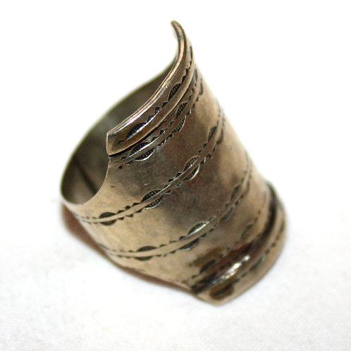 #7044 - Bague argent