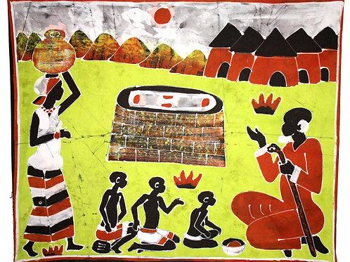 #2007 - Batique - Village vieux sage