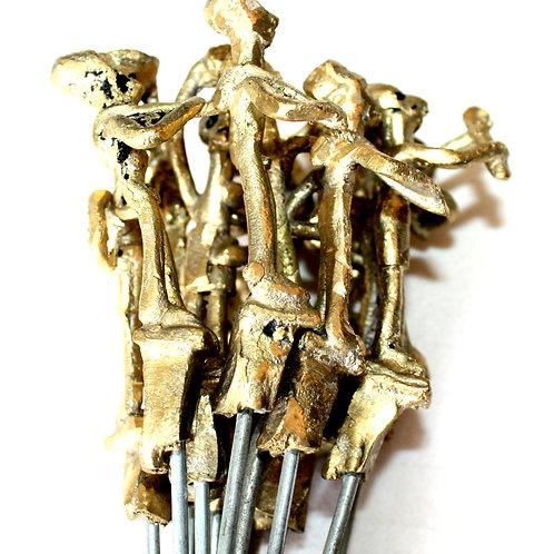 #6009 - Brochettes en bronze