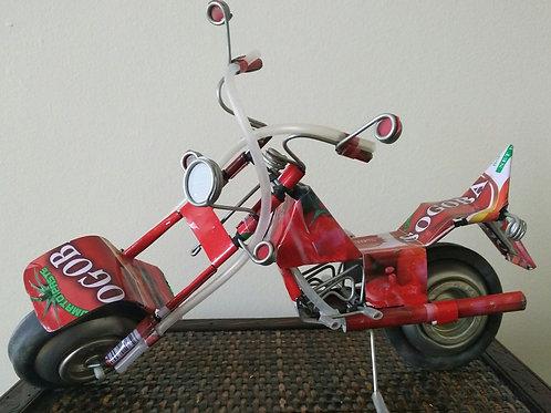 Moto recyclé