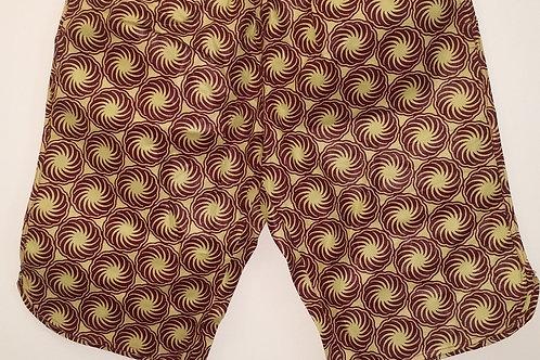 Bermudas - tissus africains