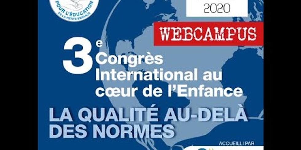 Congrès international au coeur de l'enfance
