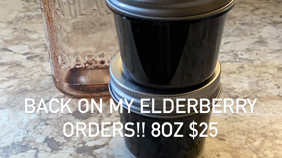 8oz Elderberry