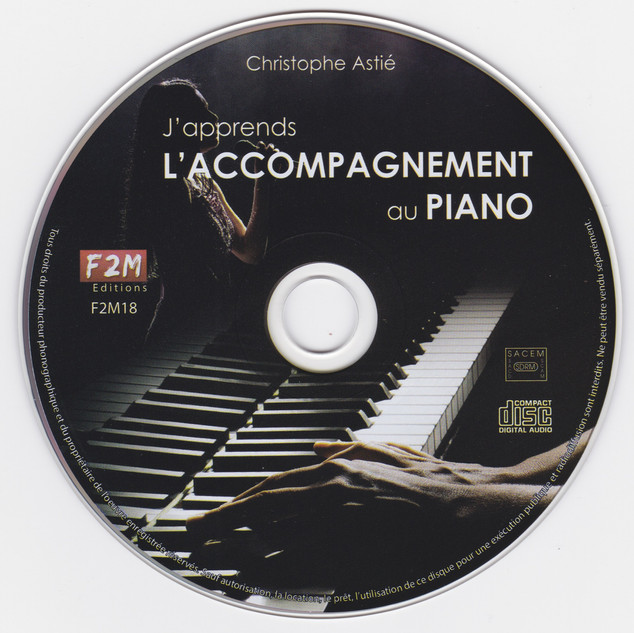 J'apprends l'accompagnement au piano