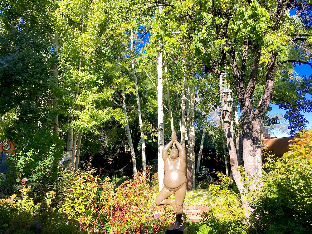 Santa Fe, New Mexico, garden tour, sustainable gardens