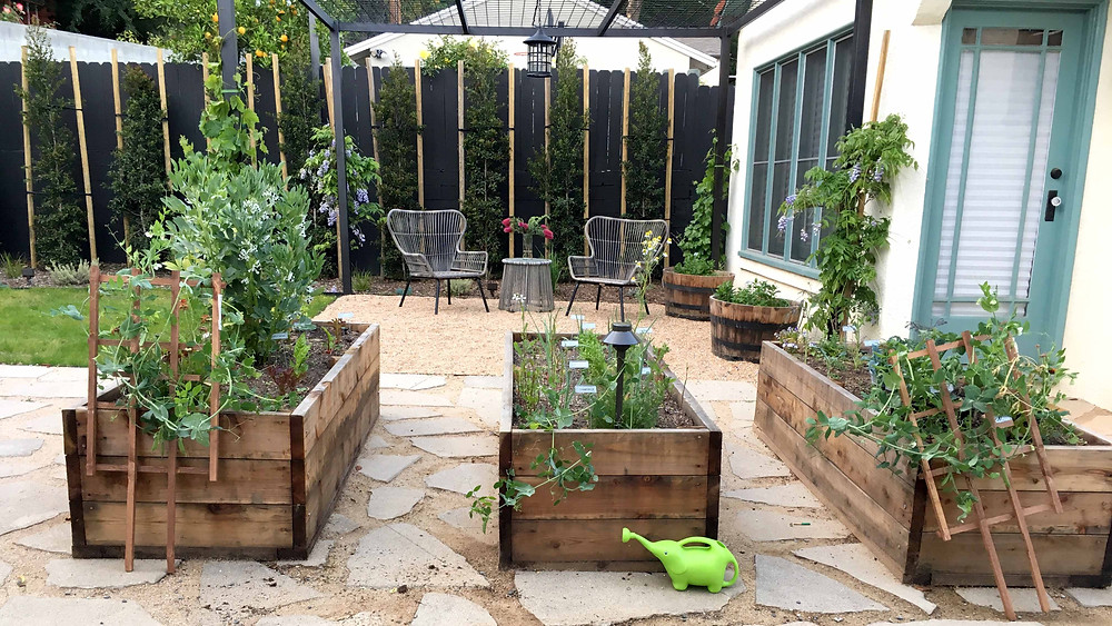 raised beds, vegetable beds, edible garden