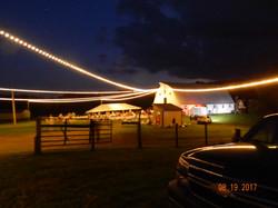 Maple Tree night time barn