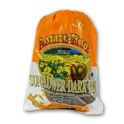 Sunflower Dark Rye Bread