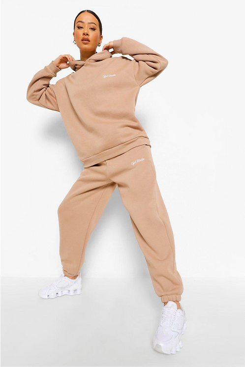 Oversized Ofcl Studio Embroidered Tracksuit
