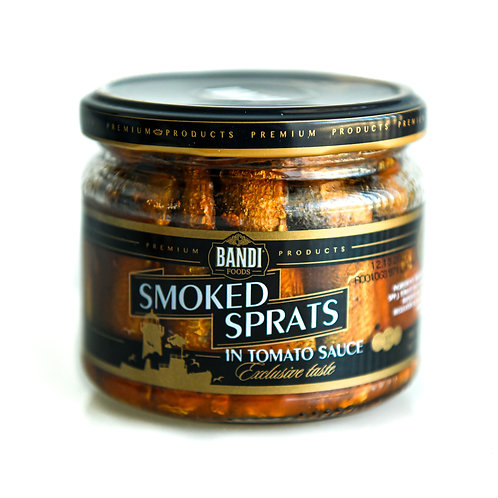 Smoked Sprarts in Tomato Sauce