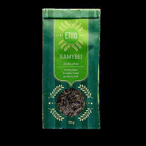 Žolelių arbata ETNO RAMYBEI