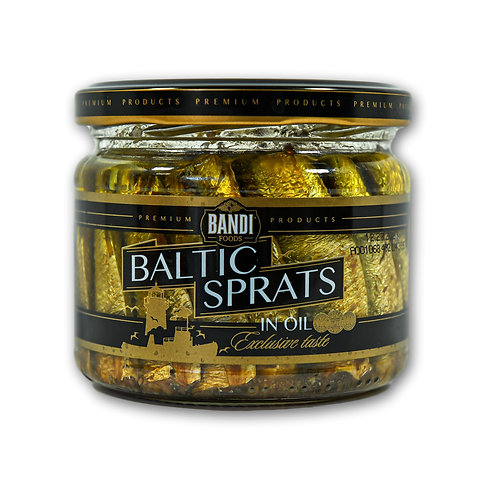 Baltic Sprats in Oil