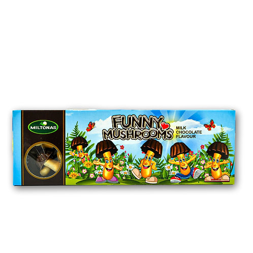 """Funny Mushrooms"" with Chocolate Flavor"