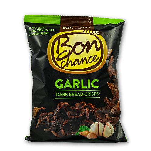 Bread crisps (Garlic dark bread)