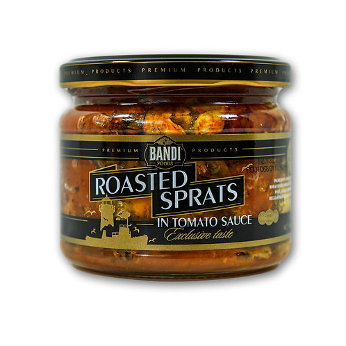 Roasted Sprats in Tomato Sauce