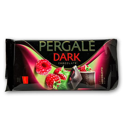 Dark Chocolate with Raspberry Pieces