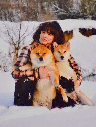 Елена Лапина - фотограф и владелица питомника сиба ину REDSTORY