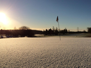 On the Course in December and January