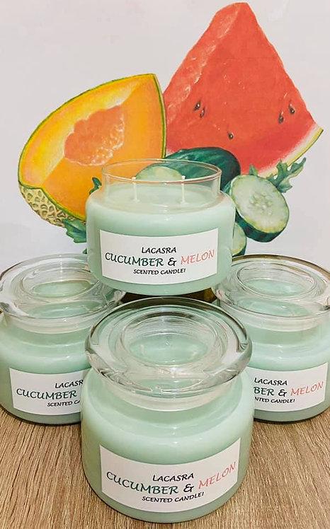 Cucumber & Melon (Medium - Large size candles)