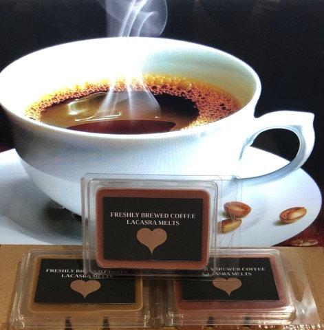 Freshly brewed coffee melts