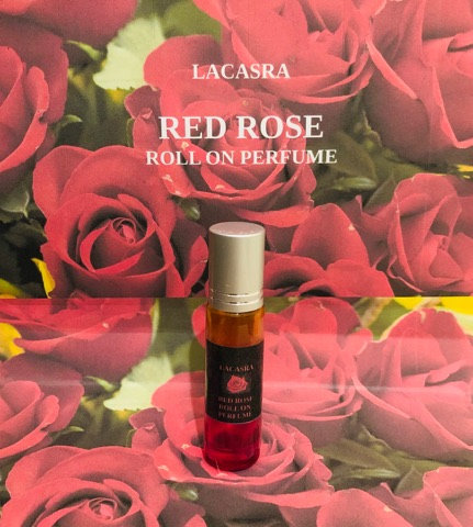 Red Rose roll on perfume