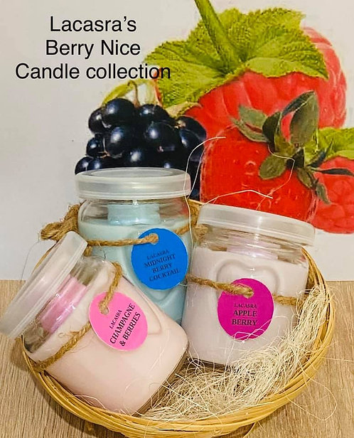 Berry Nice candle collection