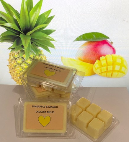 Pineapple and mango melts