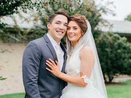Fall Wedding in Laplata