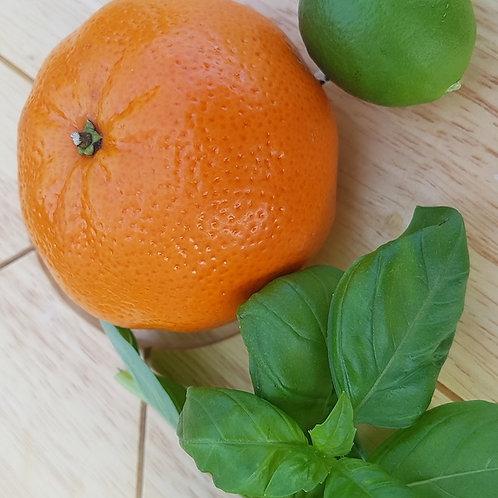 Lime, Basil, & Mandarin