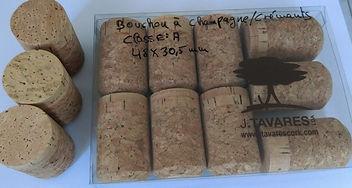 Bouchon Spartek de J.Tavares pour vins effervecents