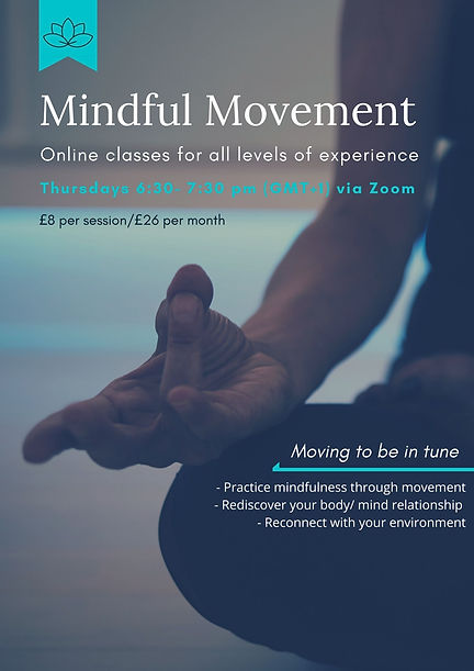 mindful movement classes online