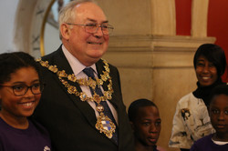 Mayor with Asi Munisi & Westbridge